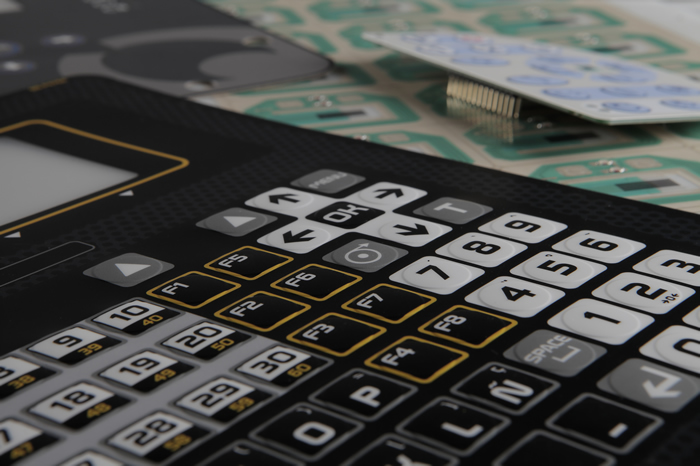 30 years of experience in the custom manufacturing of membrane keypads and skins. Layme also provides sensors, resistors, anti-theft antennas and quality digital printing on plastic